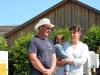 Fam. Never im Interview zum Pferdehof beim Dorffest in Reddelich