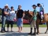 Fam. Never im Interview zum Pferdehof beim Dorffest in Reddelich (2)