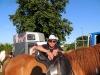 Ponyreiten beim Dorffest in Reddelich