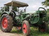 Einer unserer zwei Traktoren
