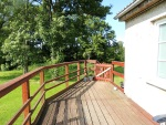 Terrasse mit Wohnungseingang