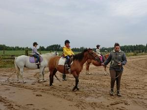 Zum Abschluß des Ausflugs gab es Ponyreiten für alle.